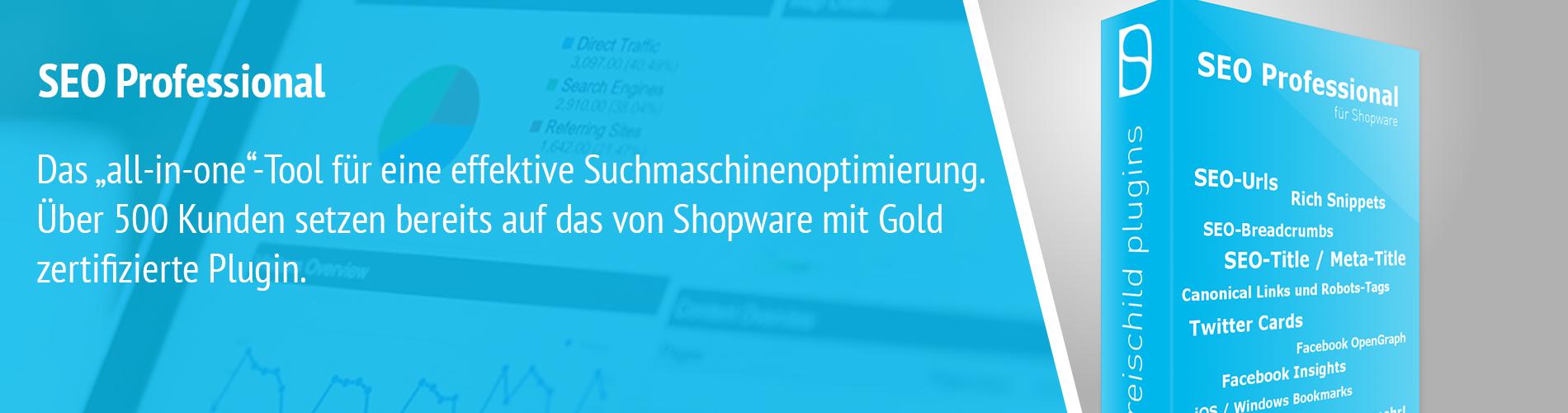 Shopware SEO Optimierung mit SEO Professional