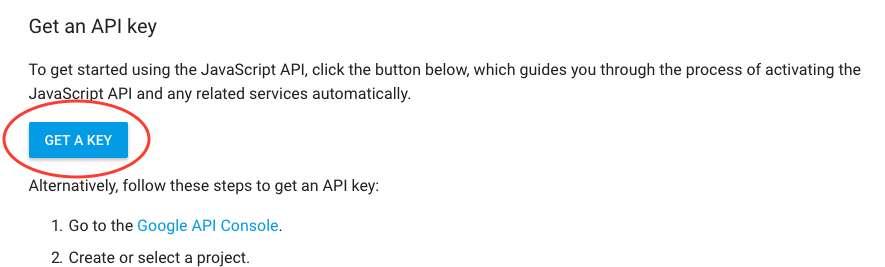 Get-a-google-key