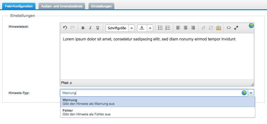 Konfiguration-des-Hinweistext-Inhaltselements