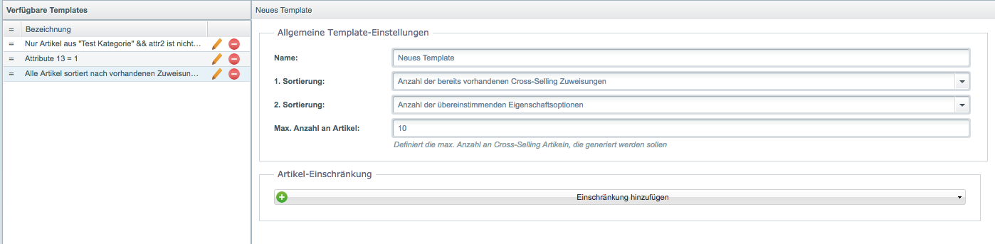 Intelligentes Cross-Selling für Shopware